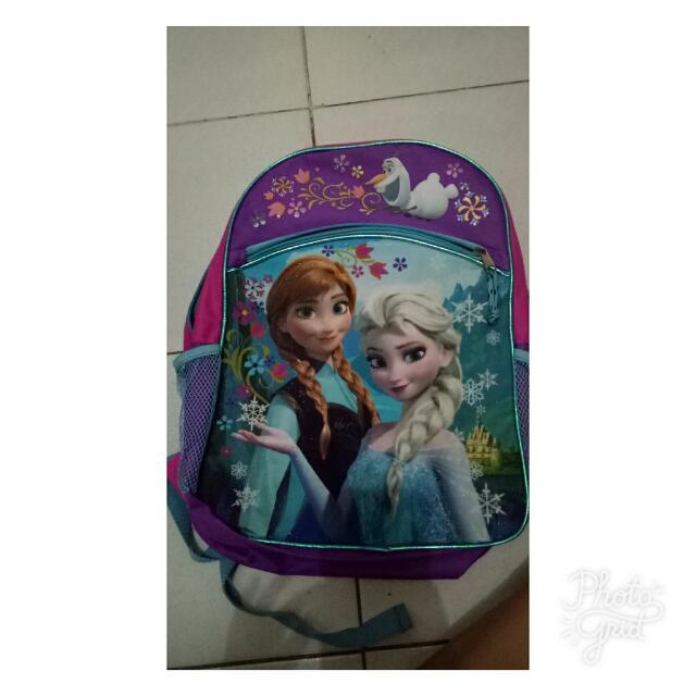 Frozen Bagpack