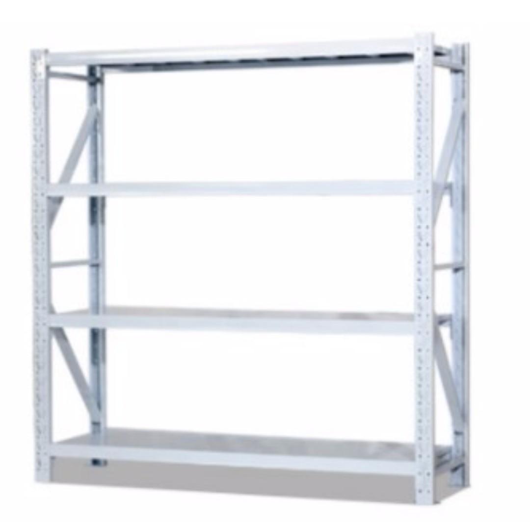 Full Metal Boltless Warehouse Storeroom Rack With Metal