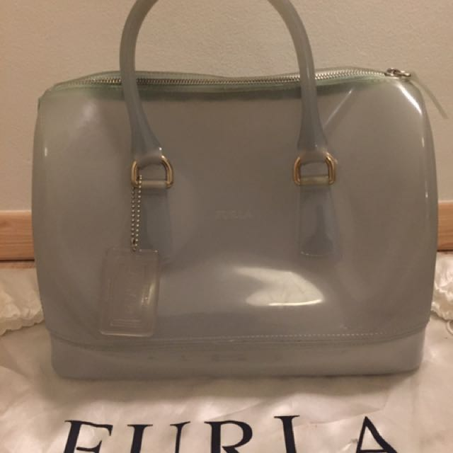 FURLA ORIGINAL CANDY BAG BABY BLUE