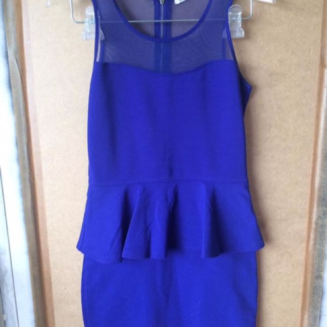 Garage Blue Dress