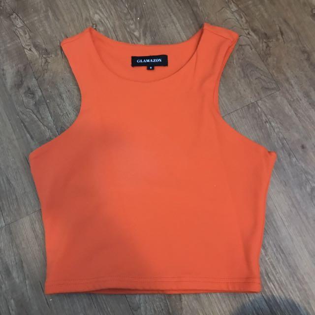 Glamazon Basic Orange Crop