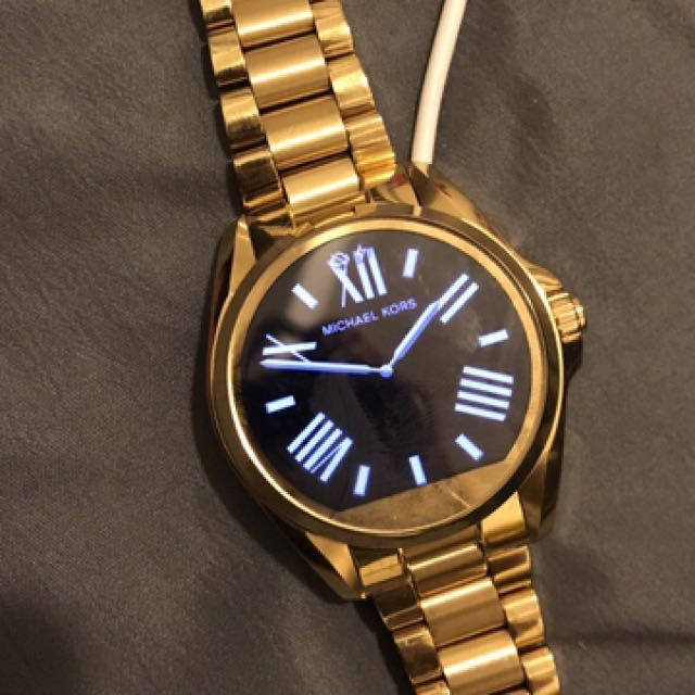 Gold Michael Kors Smart Watch