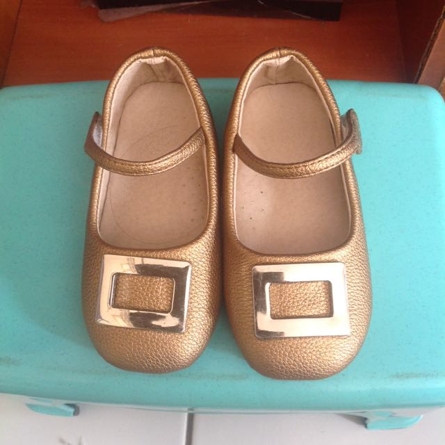 Gold Shoes