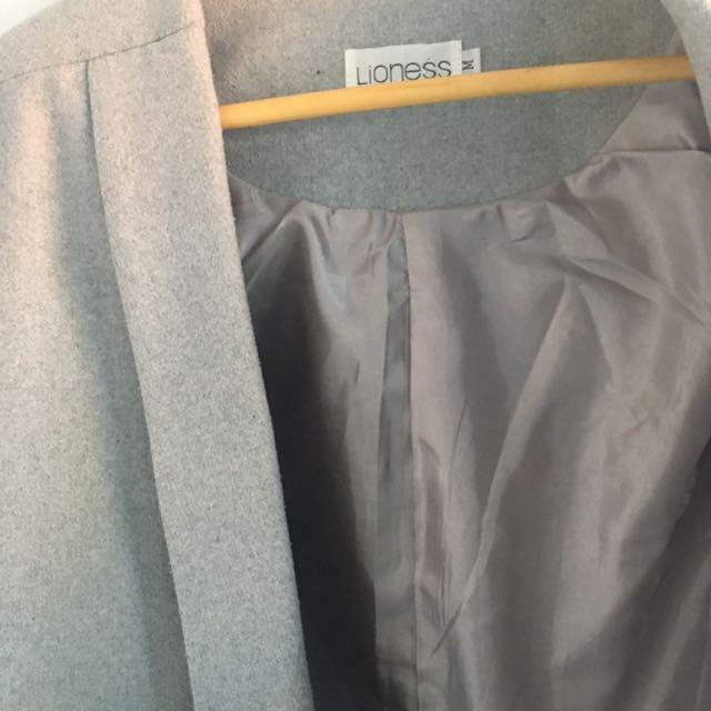 Grey Blazer/coat
