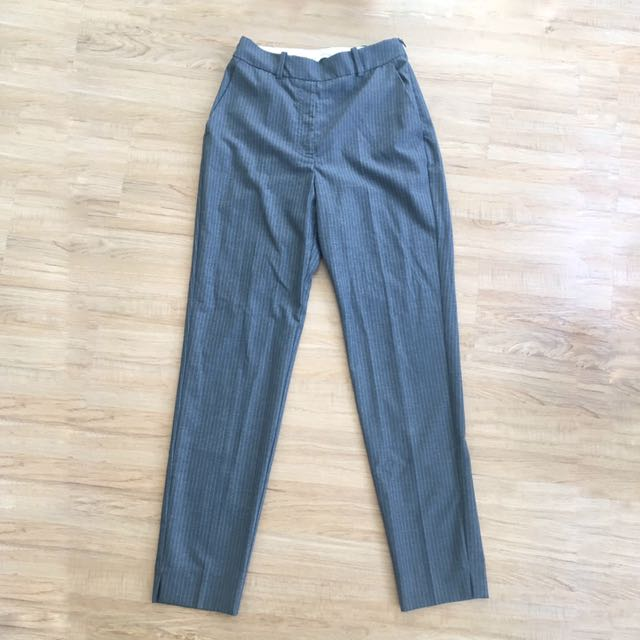 Grey Mango Trousers 36