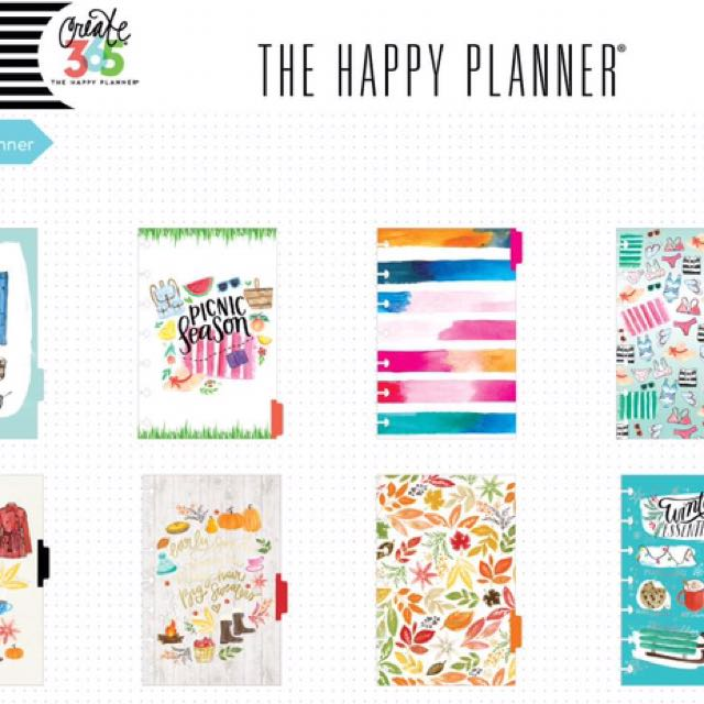 Happy Planner Mini Undated Horizontal Weeks (INSERTS ONLY)