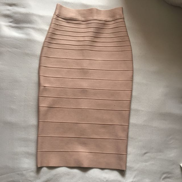 High Waisted Bandage Skirt