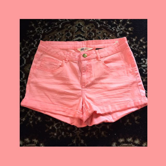 Auth H&M Pink Shorts