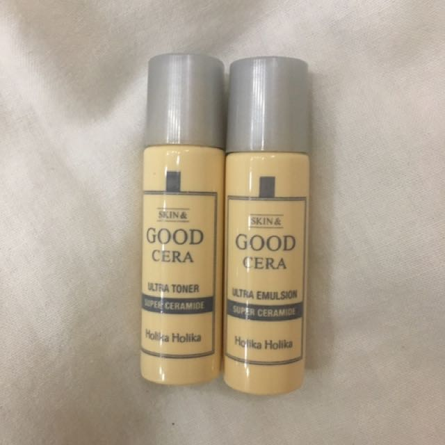 Holika Holika Good Cera Ultra Toner And Emulsion