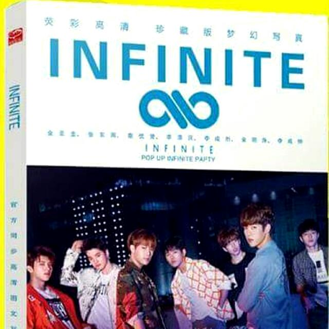 INFINITE PHOTOBOOK W/FREEBIES
