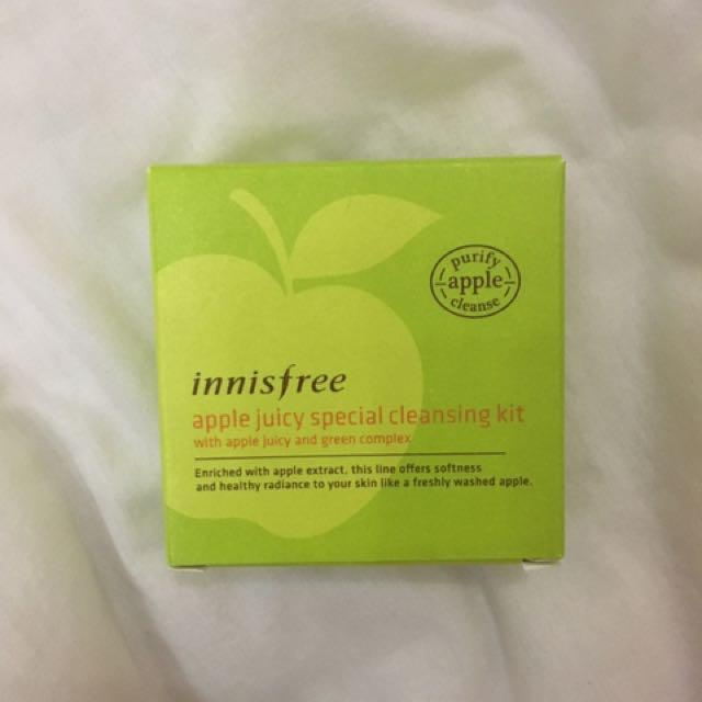 Innisfree Apple Juicy Special Cleansing Kit