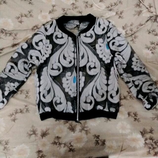 Jacket Tembus Pandang