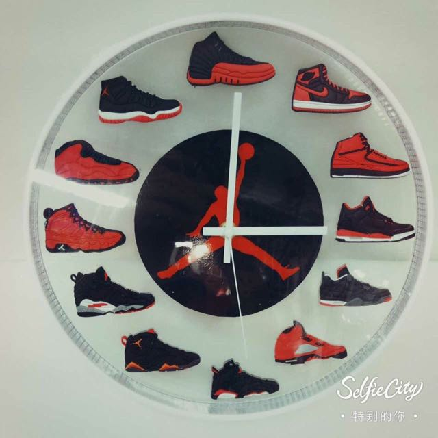 Jordan Fashion Wall Clock