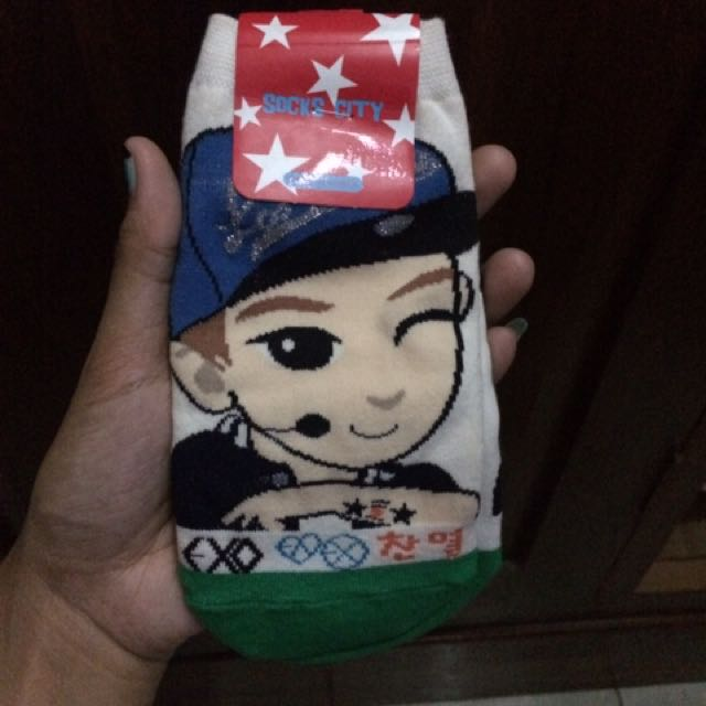 Kaos Kaki Chibi Chanyeol Exo