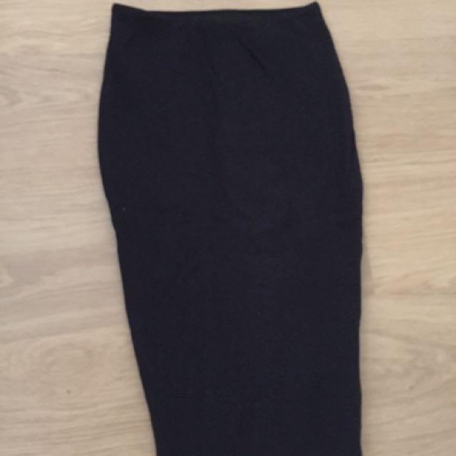 KOOKAI Black Body Con Skirt