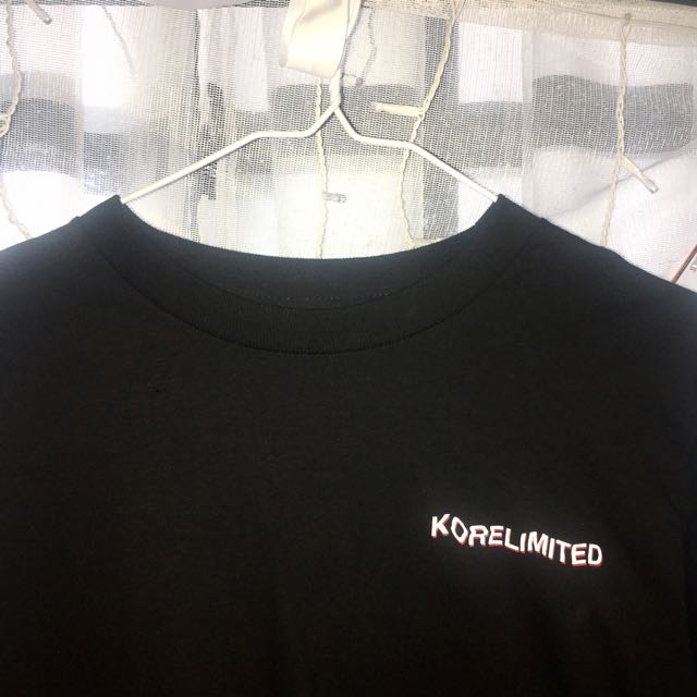 Korelimited Black Long Sleeve