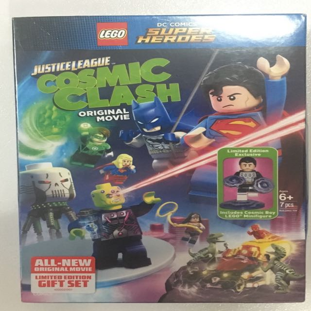Lego DC Superheroes Cosmic Clash Original Movie DVD