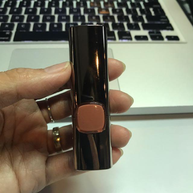 Lipstick L'oreal Color Riche Moist Matte - Peacy Brown