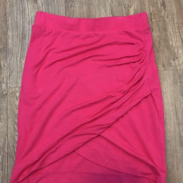 Live Bright Pink Skirt