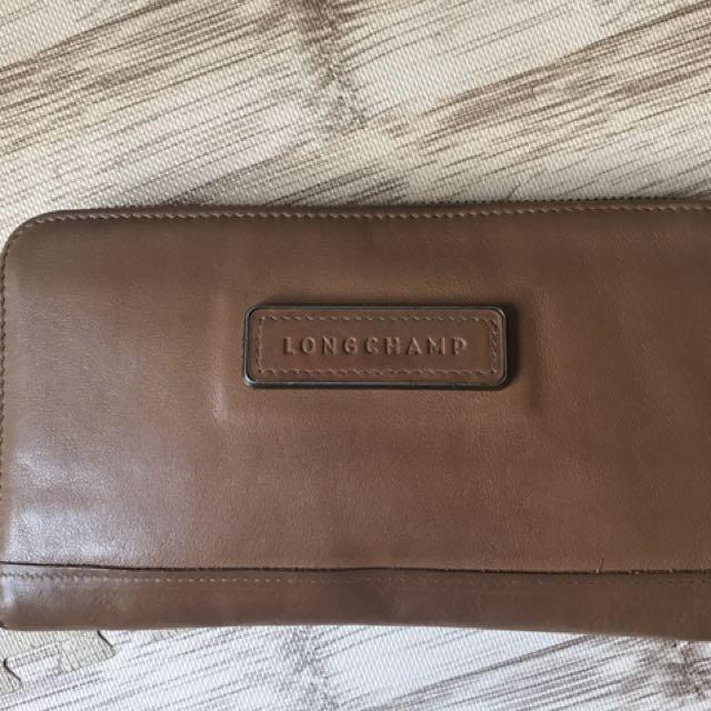 Longchamp Women Wallet Full Leather Fast Sale