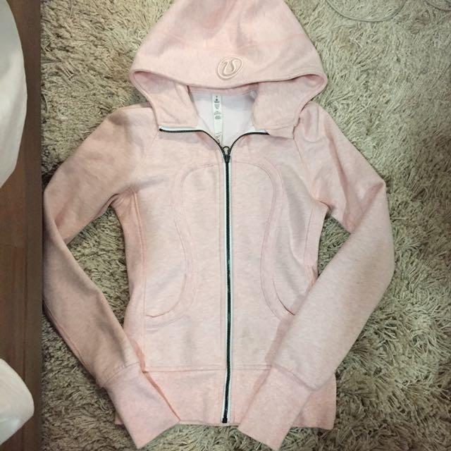 LULULEMON PINK SWEATER SZ 2