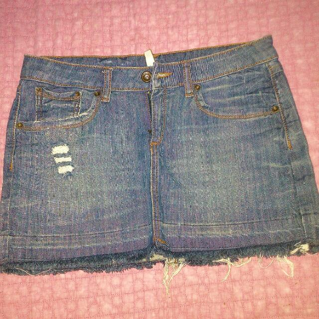 Mango jeans Denim Skirt