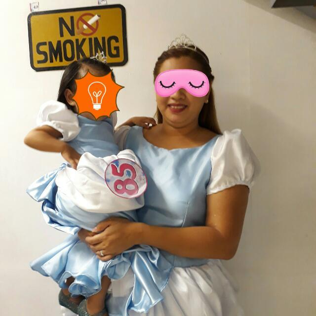 Matchy Cinderella Gown