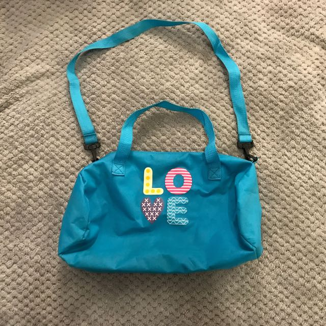 small love duffle bag