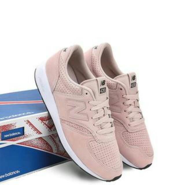 New Balance 420 Suede Pink Size 38
