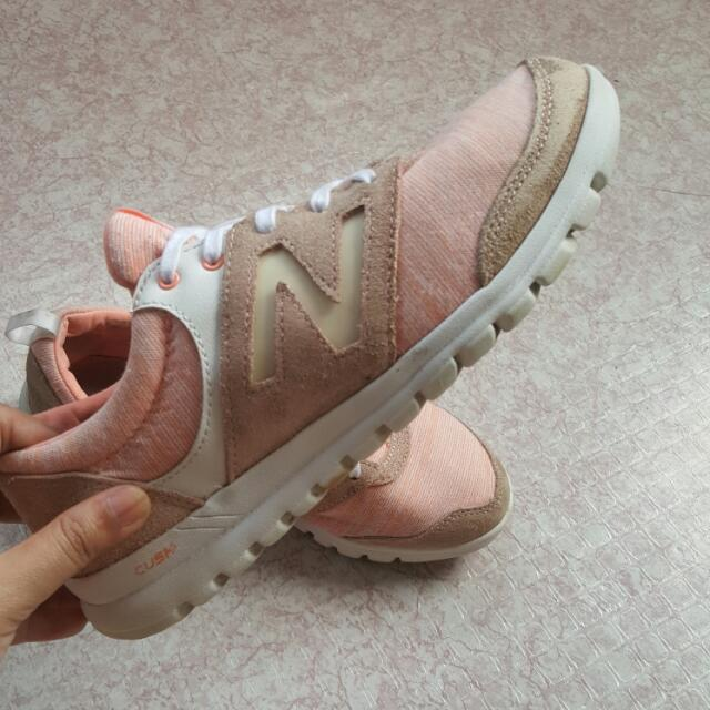 New Balance Nude Pink Suede, Women's