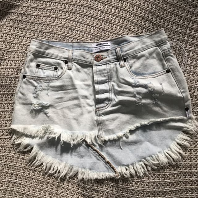 One Teaspoon Mini Skirt