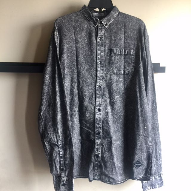 OXYGEN Acid Washed Shirt
