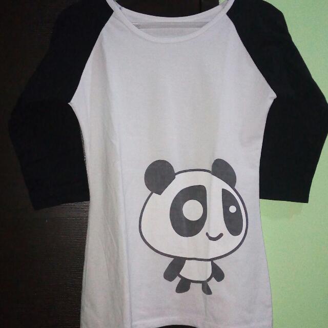 Panda 3/4 Sleeves