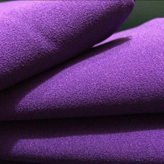 Pashmina Diamond Crepe Purple