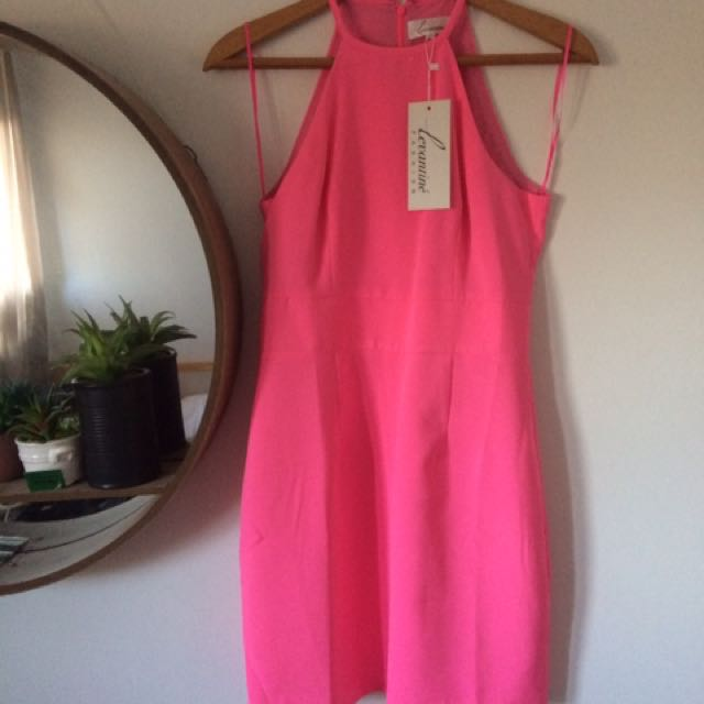 Pink Bodycon Mini dress STELLY