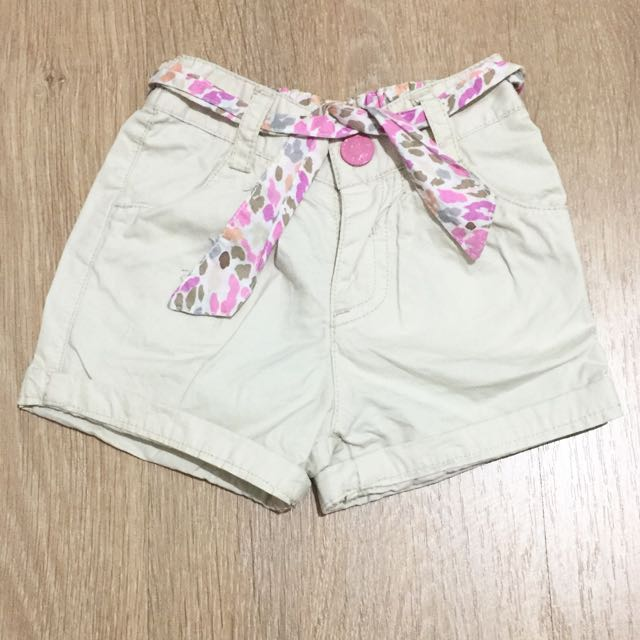 Preloved Authentic Mothercare Shorts 0-3 Months