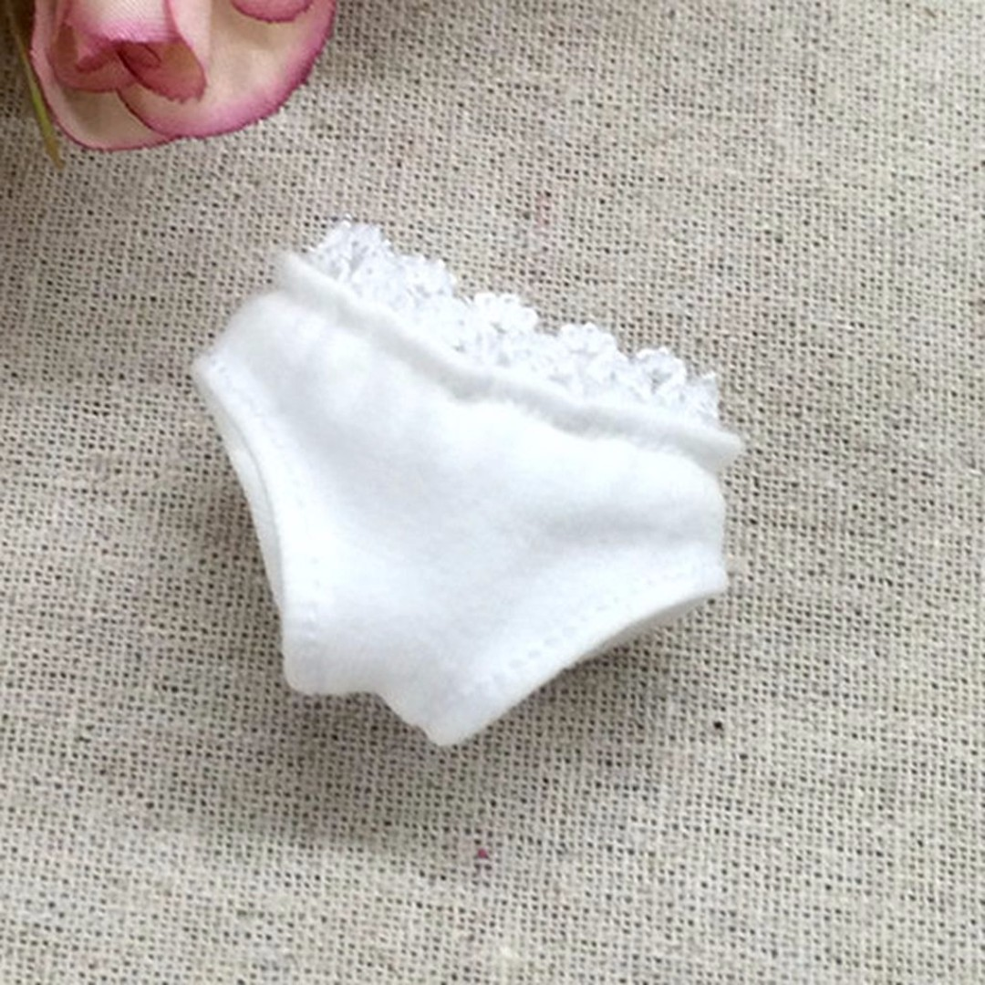 "[Pre-order] 12"" Fashion Doll Lace White Underwear For Blythe / Takara Licca / Takara Jenny / AZONE Doll / Barbie Doll etc..."