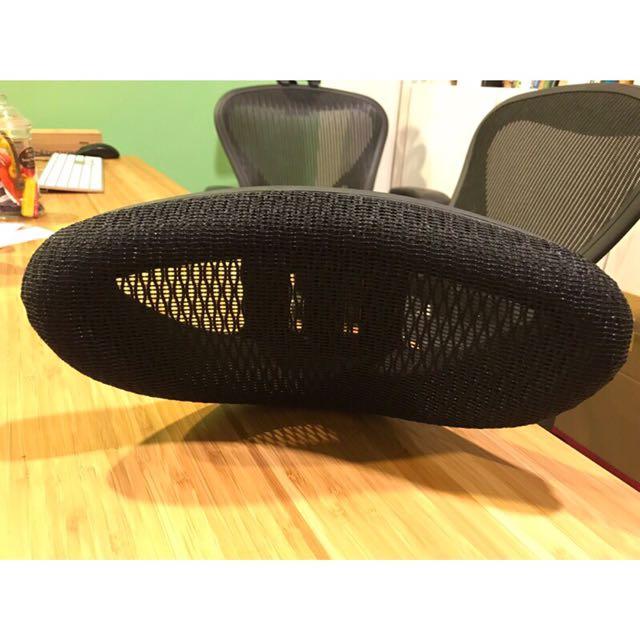 [出清]Pro-Line II ProGrid Headrest 辦公室椅子 黑色可調頭枕