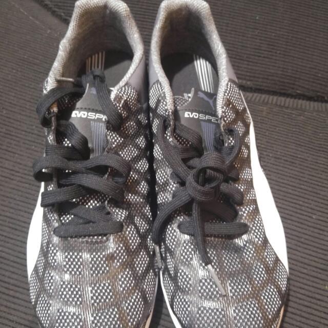 puma evo rubber shoes