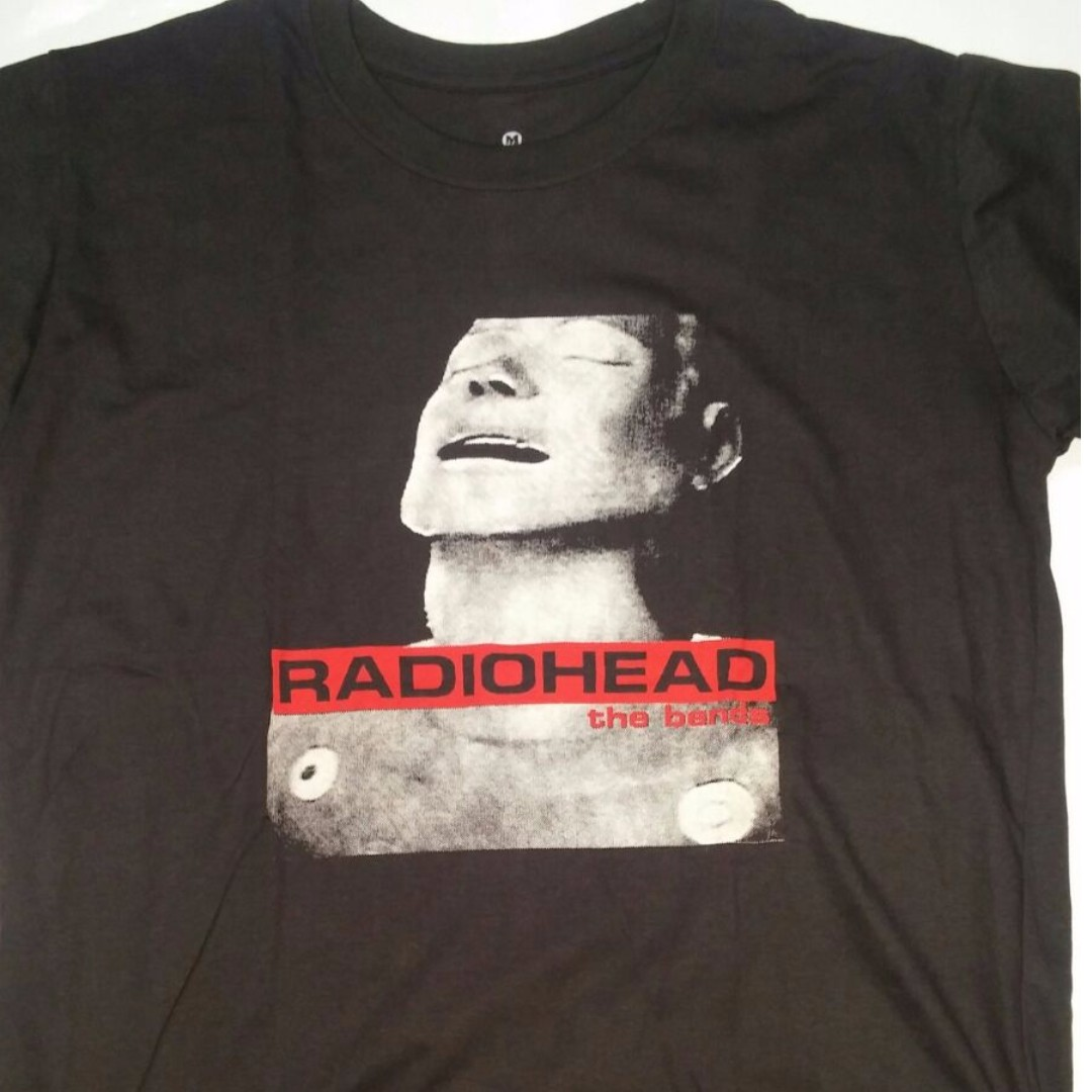 2857b291 Radiohead - The Bends T-shirt Rock Band Merch Tee Medium Only 20inches.,  Men's Fashion, Clothes on Carousell