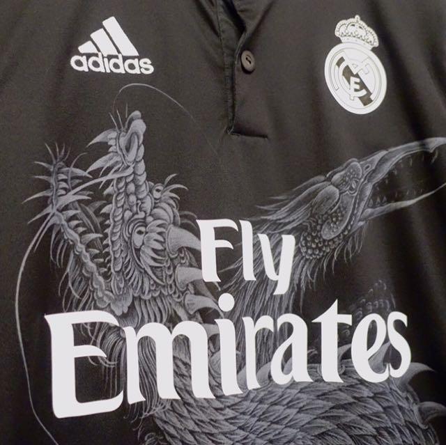 b3fbf359307 Real Madrid X Yohji Yamamoto Y3 皇馬X 山本耀司14 15歐聯Size S ...