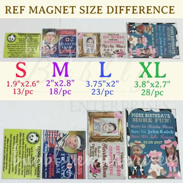 Ref Magnet Giveaways and Souvenirs