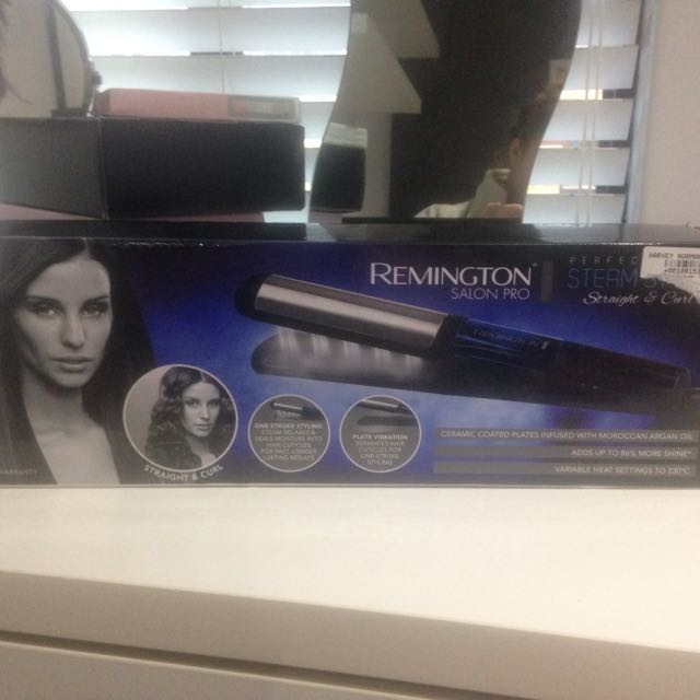 Remington Curler & Straighter In One