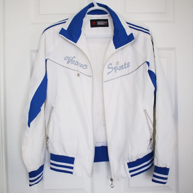 Retro Blue & White Jacket