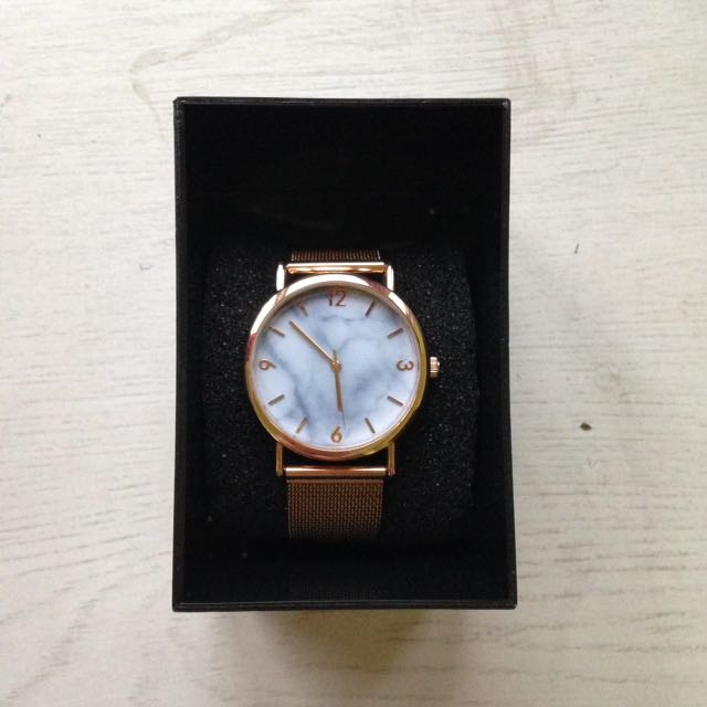 SALE!!! Rose Gold Marble Watch