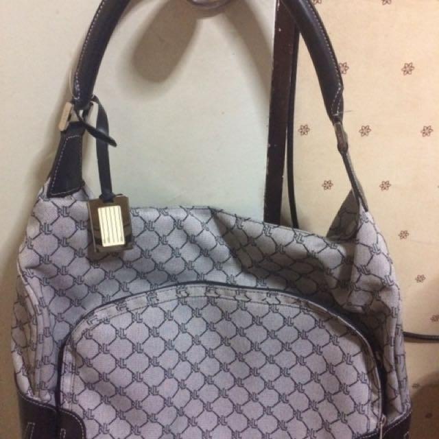 RRL luggage bag