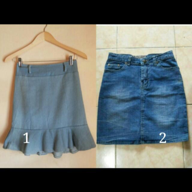 SALE! Rok Jeans 2pcs