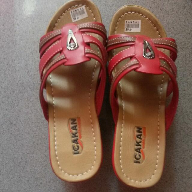 Reprice Sandal Icakan Collection Red