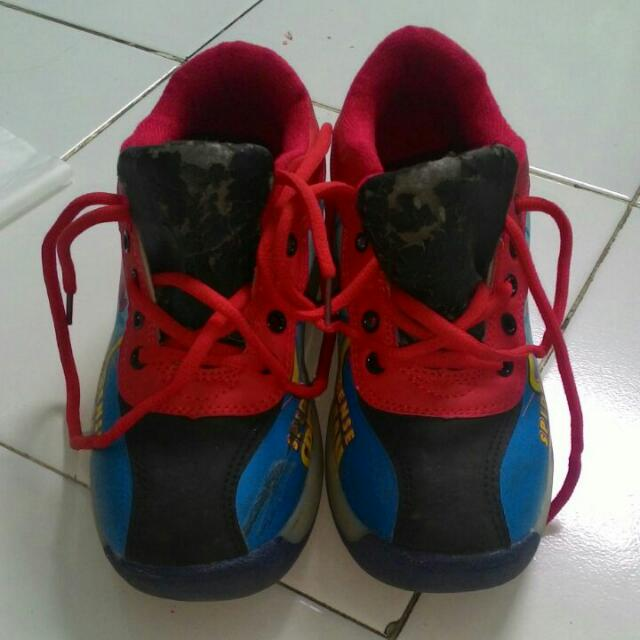 Sepatu Anak Spidermen
