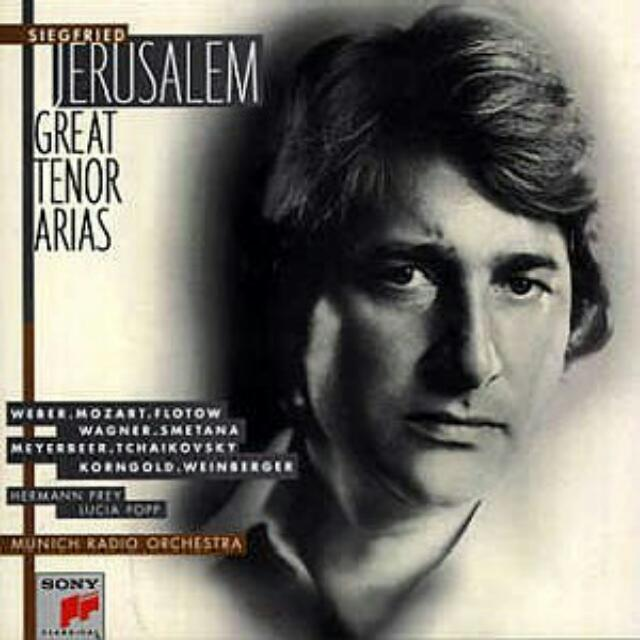 Siegfried Jerusalem ~ Great Tenor Arias * Collection of great German  Operatic Tenor * CD made in USA, Music & Media, CD's, DVD's, & Other Media  on Carousell